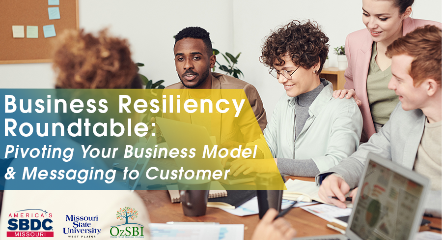 Pivoting your Business Model-Business Resiliency Roundtable
